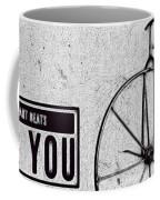 Shabby Chic, Old Bicycle No 01 Coffee Mug