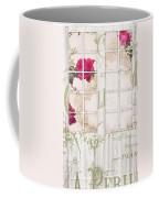 Shabby Cottage French Doors Coffee Mug