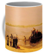 Shad Fishing At Gloucester On The Delaware River 1881 Coffee Mug