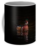Shaded Wood Duck Coffee Mug