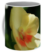 Shaded Yellow Orchid Coffee Mug