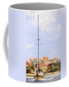 Shades Of European Village Coffee Mug