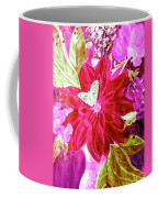 Shades Of Pink Flowers Coffee Mug