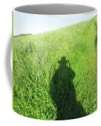Shadow In The Grass Coffee Mug