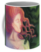 Shadow Of Medusa Coffee Mug