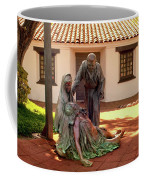 Shadow Of The Cross Detail Coffee Mug by Howard Bagley