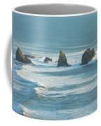 Shadowed Waves Coffee Mug