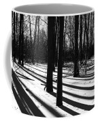 Shadows And Tracks Coffee Mug