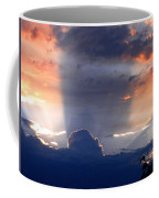 Shadows In The Sky Coffee Mug
