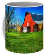 Shadows On The Barn Tennessee Farm Art Coffee Mug