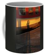 Shadows On The Platform 2 Coffee Mug