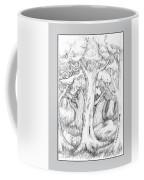 Shady Forest Of Trees Coffee Mug