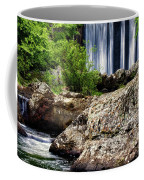 Shady Lake Falls Coffee Mug by Lana Trussell
