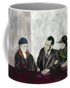 Shahn: Man & Women Coffee Mug