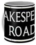Shakespeare Road Uk Coffee Mug