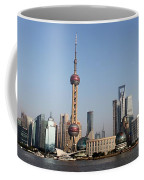 Shanghai Skyline Coffee Mug