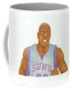 Shannon Brown Coffee Mug by Toni Jaso