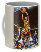 Shaquille O'neal Los Angeles Lakers Oil Art Coffee Mug