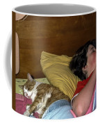 Sharing The Bed Coffee Mug