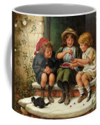 Sharing The Cherries Coffee Mug