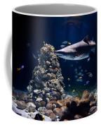 Shark In Zoo Aquarium Coffee Mug