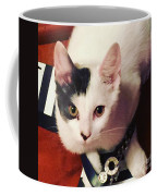 Sharky Is Shoe Cat Coffee Mug