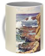Sharp Rocky Coastline Coffee Mug