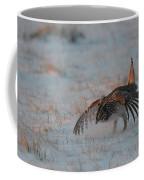 Sharptail Grouse On Snow Coffee Mug