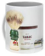 Shaving Set Coffee Mug by Gary Gillette