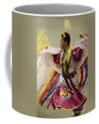 Pow Wow Shawl Dancer 4 Coffee Mug