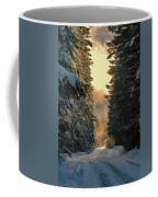 Shawnigan Winter Road Coffee Mug