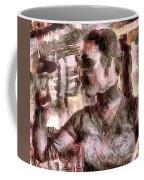She And Glass Coffee Mug