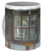 Shed Window Coffee Mug