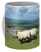 Sheep At Westbury Tor Coffee Mug