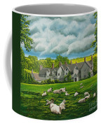 Sheep In Repose Coffee Mug