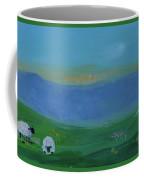 Sheep In The Meadow Coffee Mug