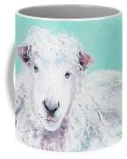 Sheep Painting - Jeremiah Coffee Mug