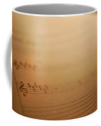 Sheet Music Coffee Mug