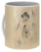 Sheet Of Sketches Coffee Mug