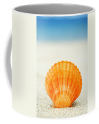 Shell On Beach Coffee Mug