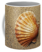 Shell On The Sand Coffee Mug