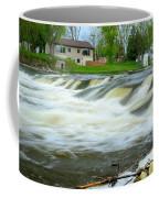 Shell Rock Iowa Dam 2 Coffee Mug
