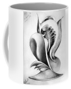 Shell-shaped Buiding From The Land Of Absurd Coffee Mug