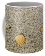 Shells In The Sand Coffee Mug