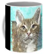 Shelter Cat Fantasy Art Coffee Mug