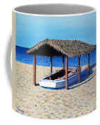 Sheltered Boat Coffee Mug