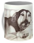 Shepherd Dog Frieda Coffee Mug