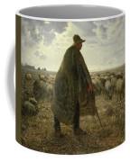 Shepherd Tending His Flock Coffee Mug