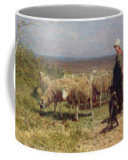Shepherdess Coffee Mug by Anton Mauve