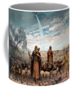 Shepherds Field Painting Coffee Mug